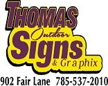 Thomas Outdoor Advertising logo